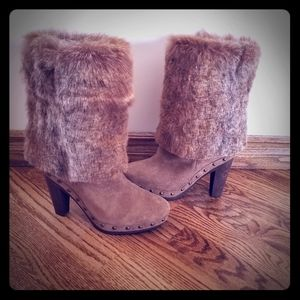 Paloma Barcelo Suede and Fur Sz.36 ❤